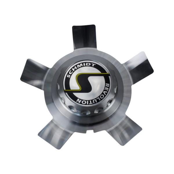 """Centerlock Eckstein 23"""" Silber Komplett GunMetal"""