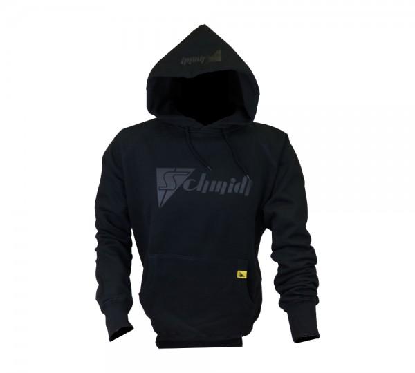 Hoodie Schmidt Black Logo