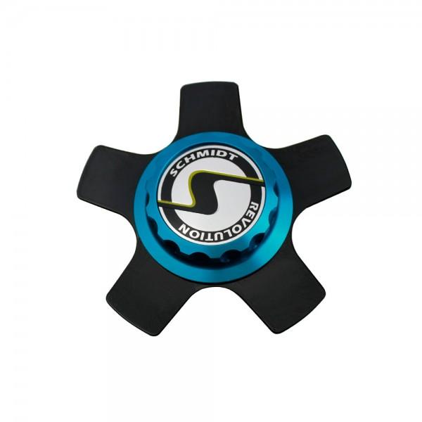 Centerlock XS5 blau Komplettsatz schwarz