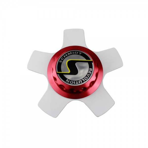 Centerlock XS5 rot Komplettsatz ceramic white