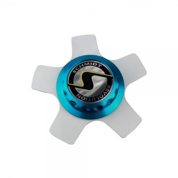 Centerlock XS5 blau Komplettsatz ceramic white