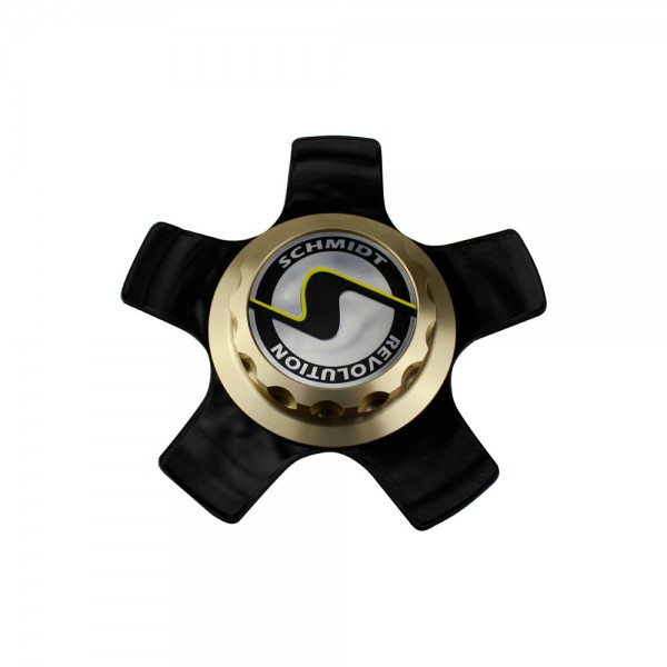 CenterLock gold XS5 Coverplate GlossBlack