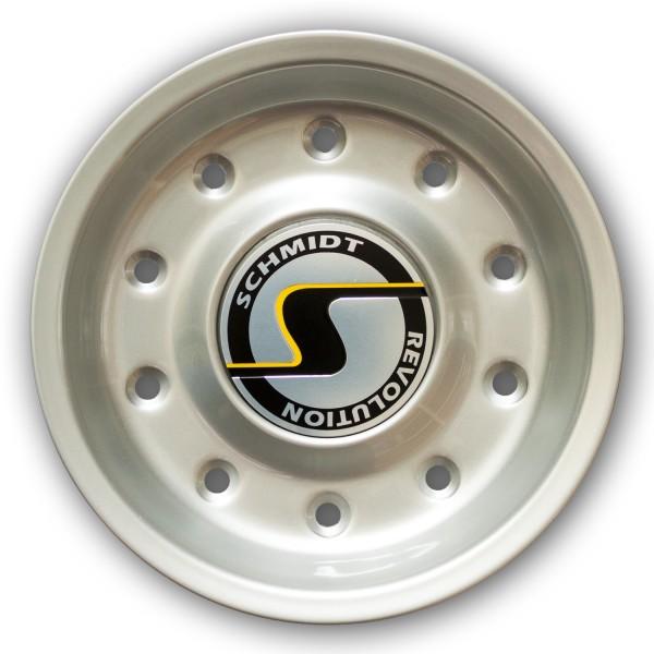 Centercap CF-Line HighGloss Silver