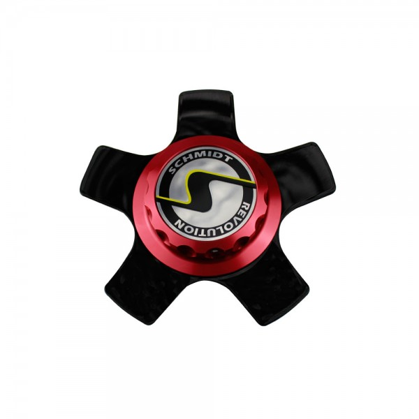 CenterLock red XS5 Coverplate GlossBlack